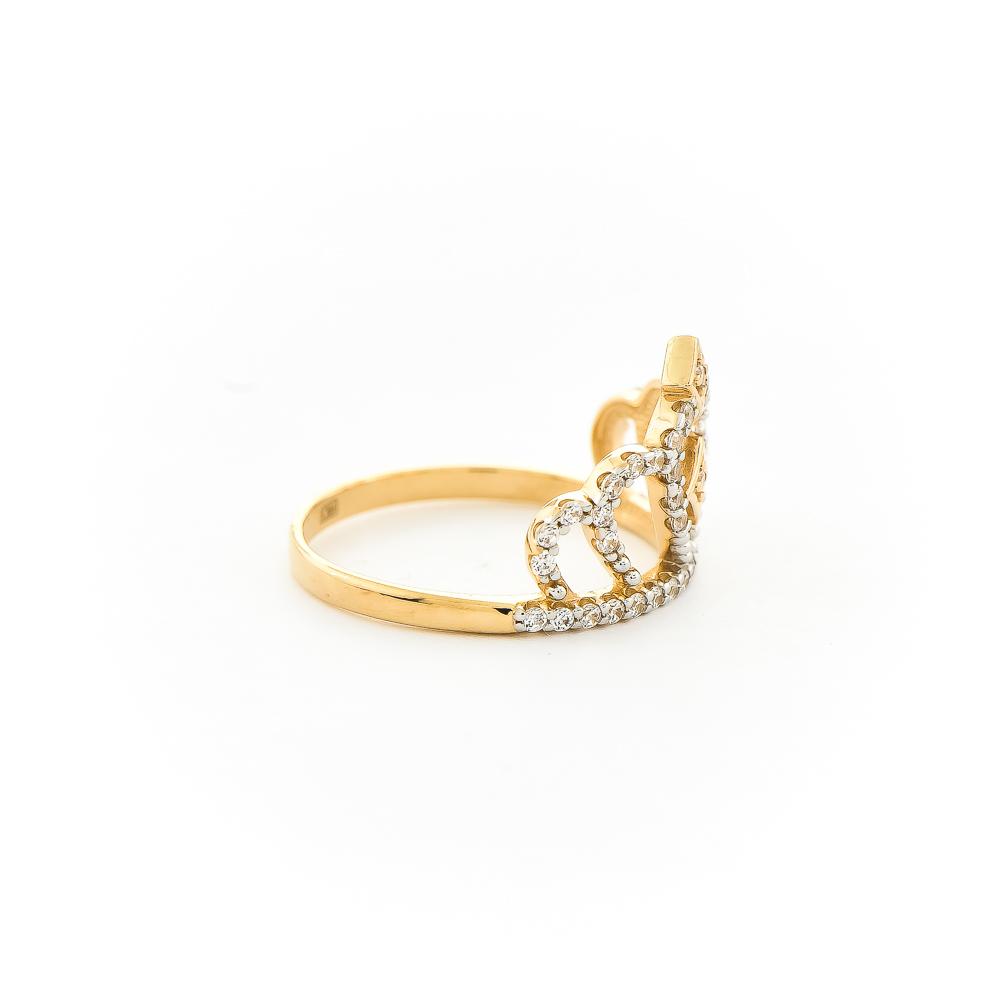 Золотое кольцо «Корона»