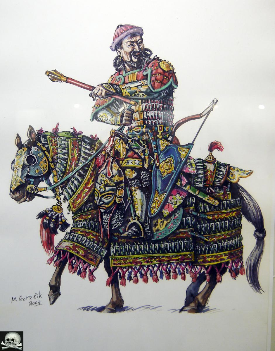Илл. 3. Михаил Горелик. Монгольский воин