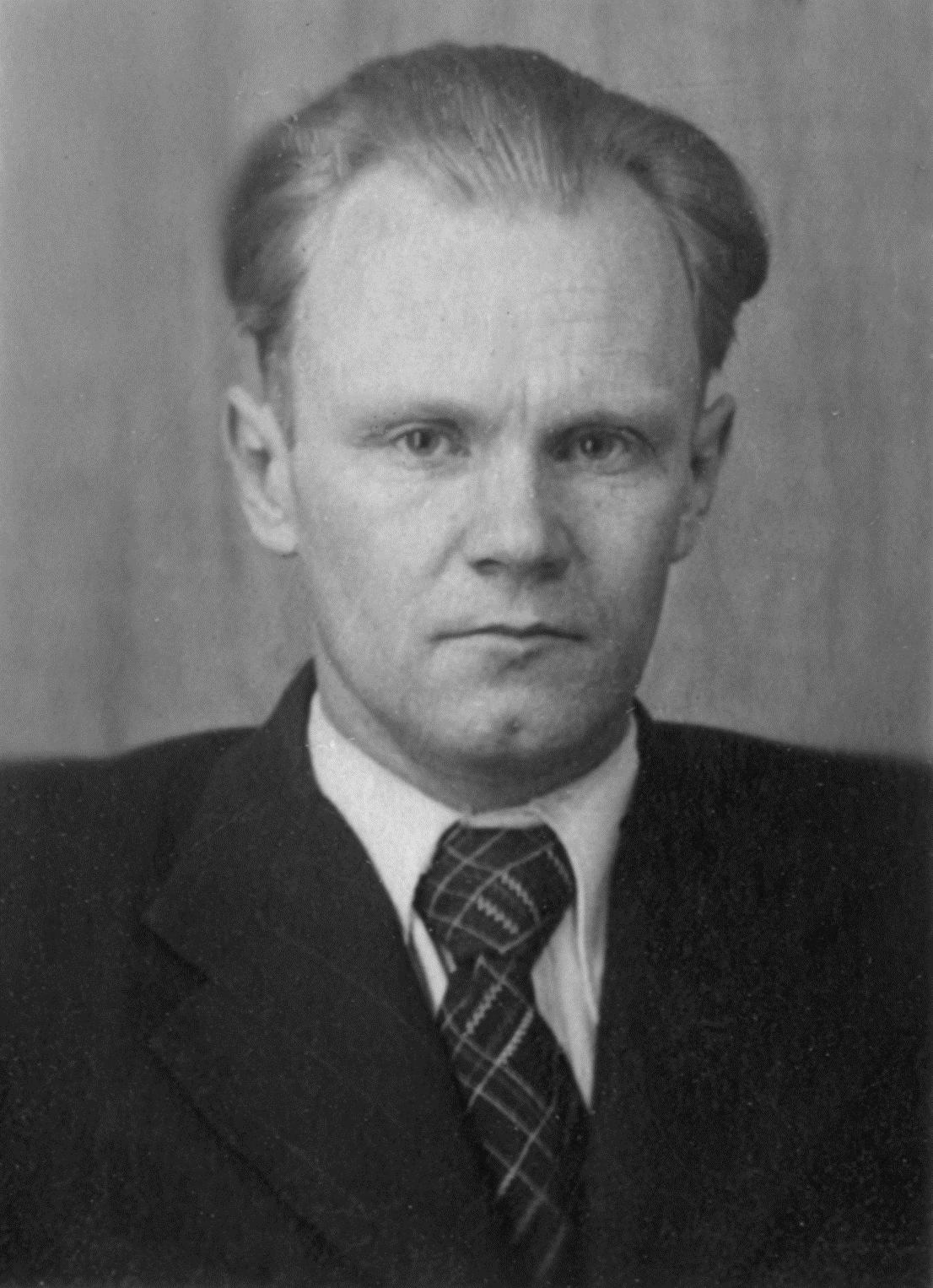 С. В. Шухардин, 1949 г.