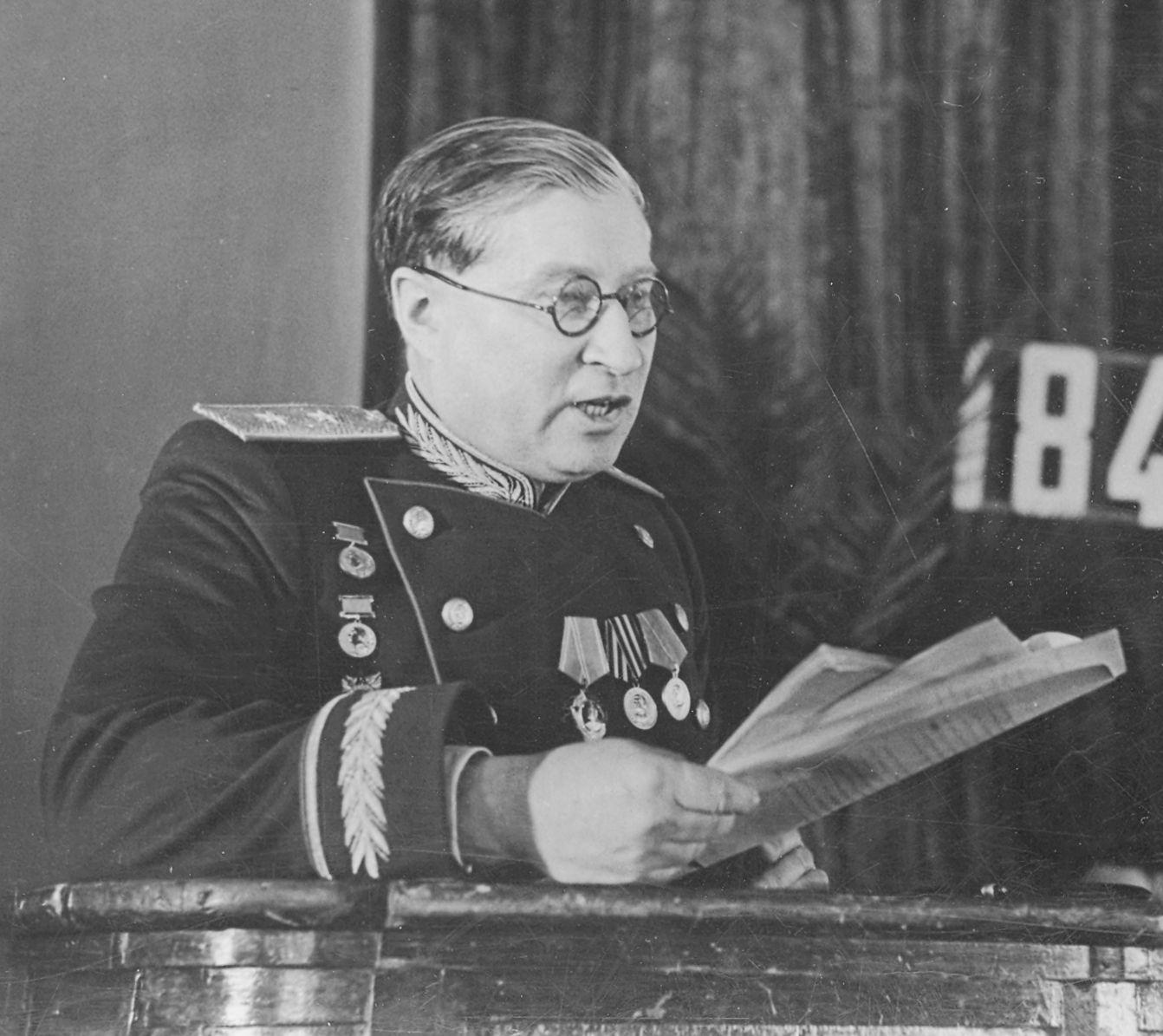 Б. Н. Юрьев, 1947 г.