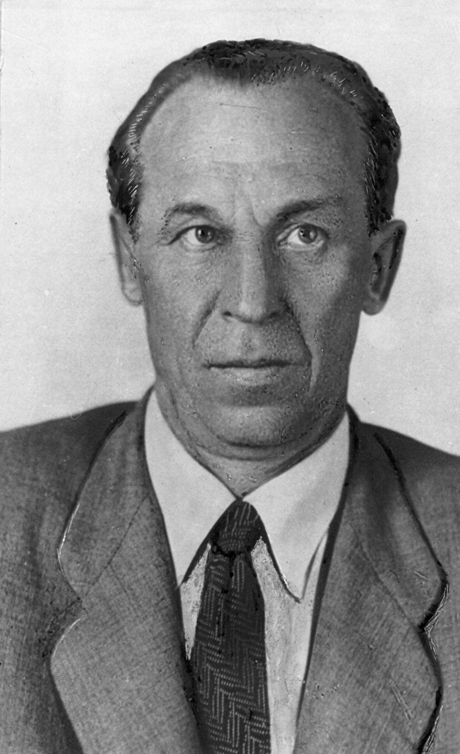 А. М. Самарин, конец 1940-х гг.