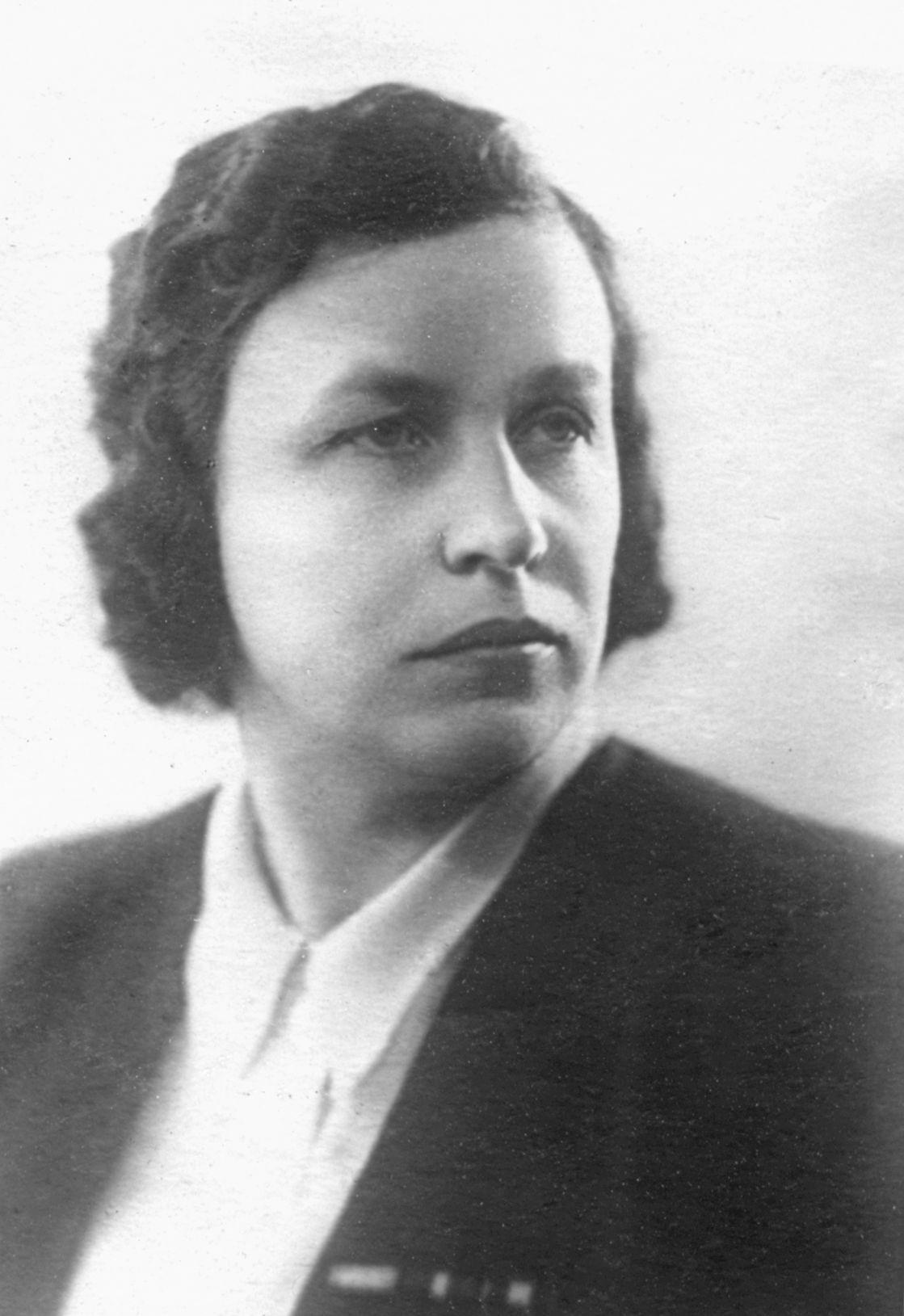 В. А. Голубцова, 1952 г.