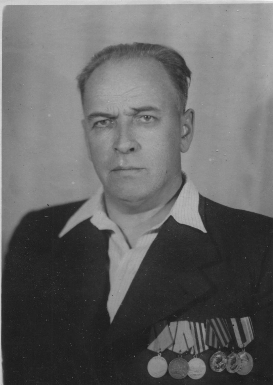Н. А. Фигуровский, конец 1940-х гг.