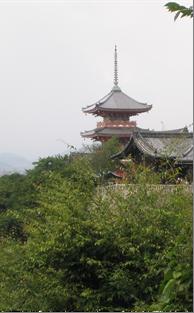 Киёмидзу-дэра – один из самых известных храмов Японии