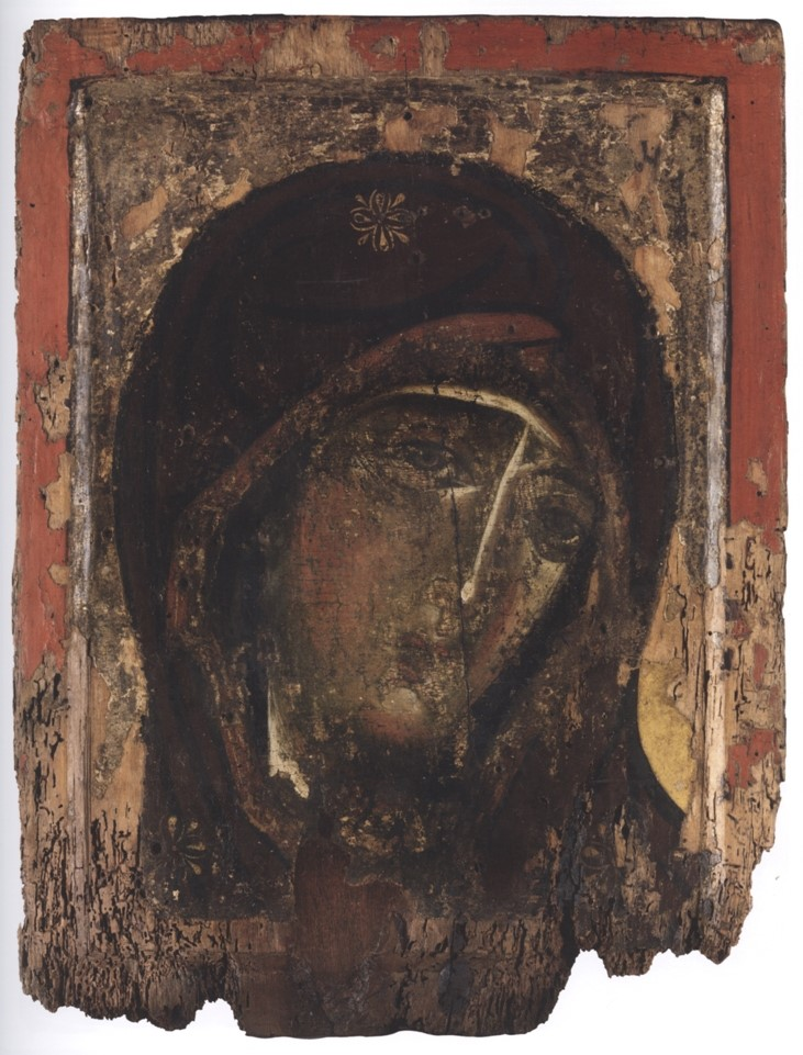 Илл. 22. Богоматерь Зерцало. XII в., Византия. Монастырь Святого Павла, Афон