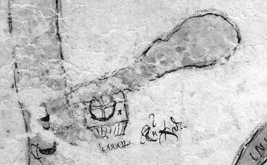 Рис. 11. Карта земельных владений Ново-Иерусалимского монастыря