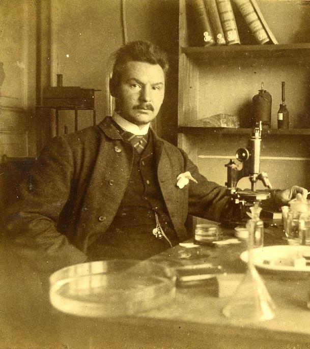 Михаил Михайлович Давыдов, 1890 г. Из личного архива С. И. Фокина
