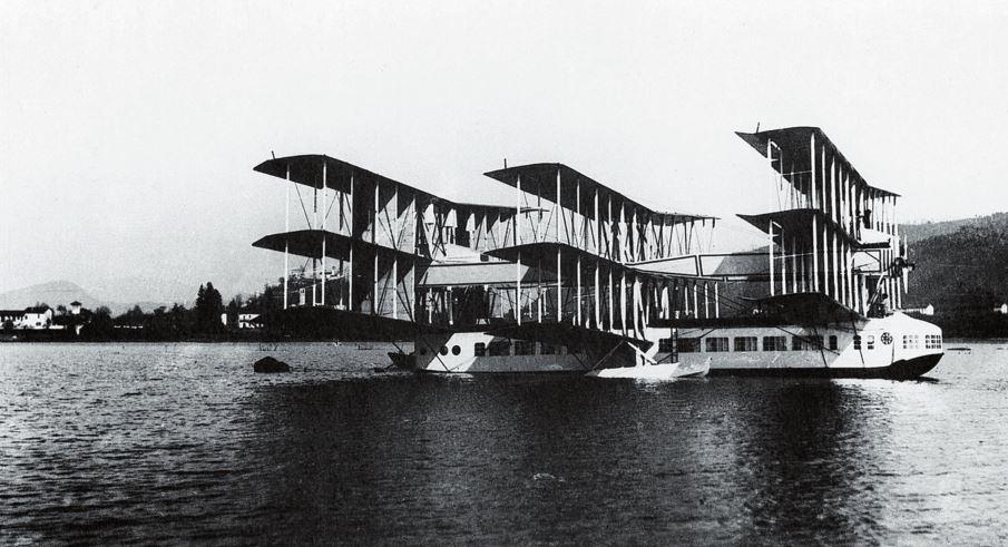 Рис. 2. «Капрони Са.60» – самолет, создававшийся для полетов из Европы в Америку