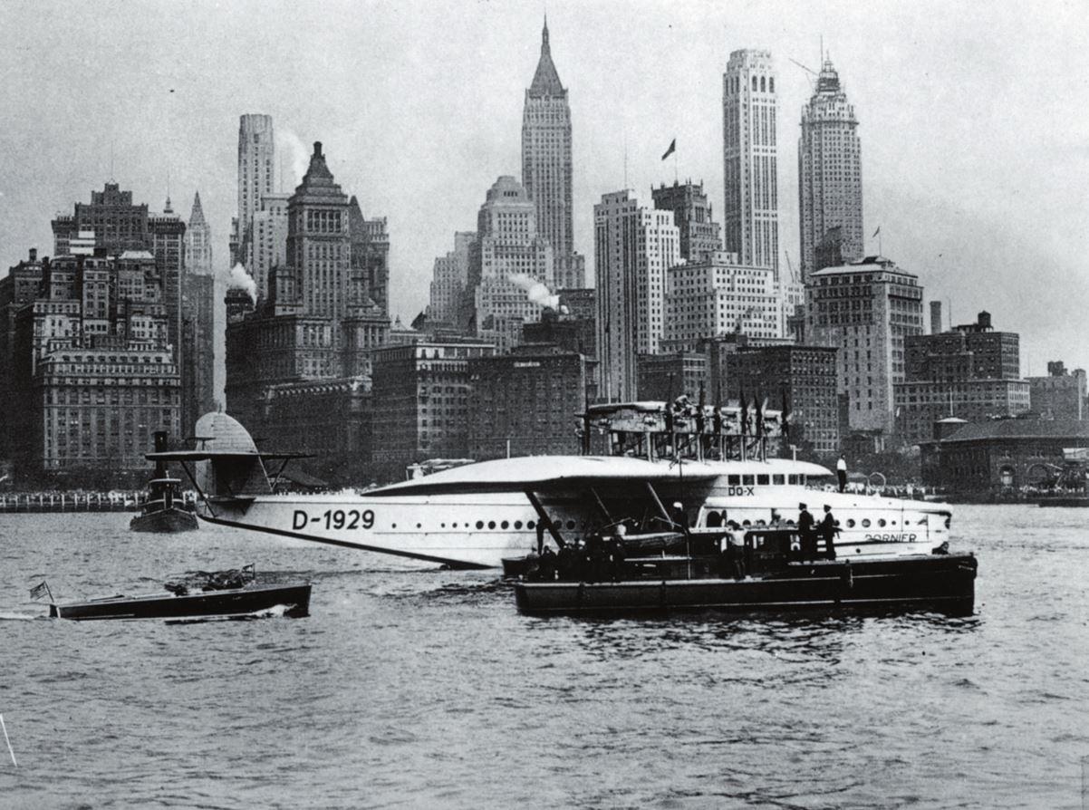 Рис. 3. «Дорнье Do X» – самый большой самолет 1920-х гг.