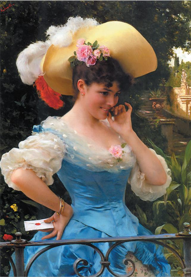 Федерико Андреотти. Кокетка. (Записка). 1890