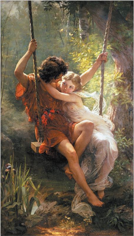 Пьер Огюст Кот. Весна. 1873