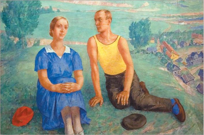 Кузьма Петров-Водкин. Весна. 1935
