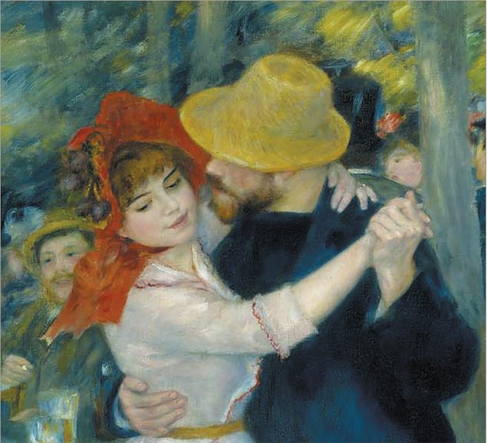 Огюст Ренуар. Танец в Буживале. 1883
