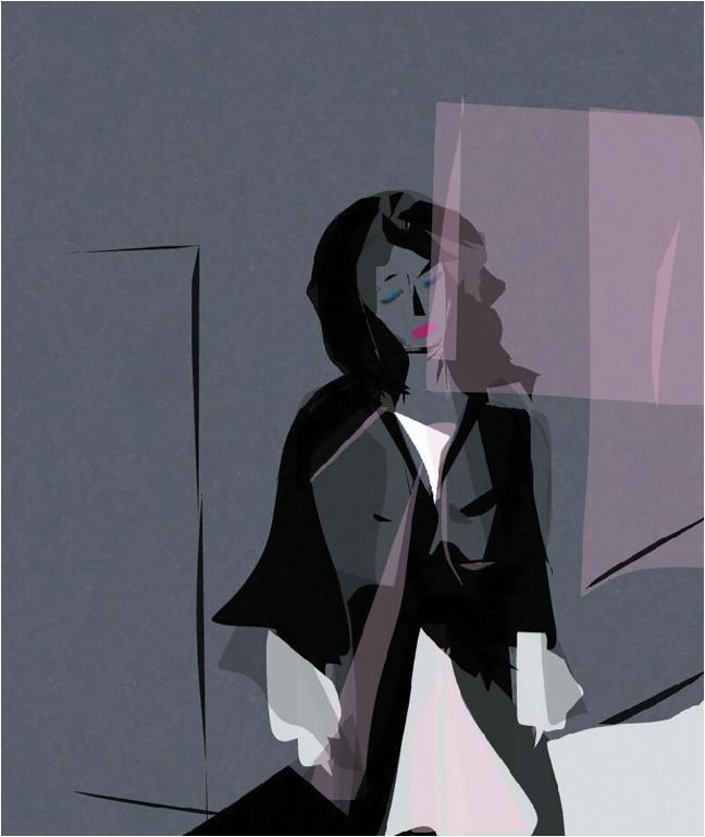 Даша Казаринова-Пыльнова, Москва. Аутентичность. Возвращение. 2021. Графика Digital (предоставлено автором) https://m.vk.com/club124186262