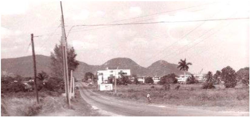 Типичный пейзаж острова