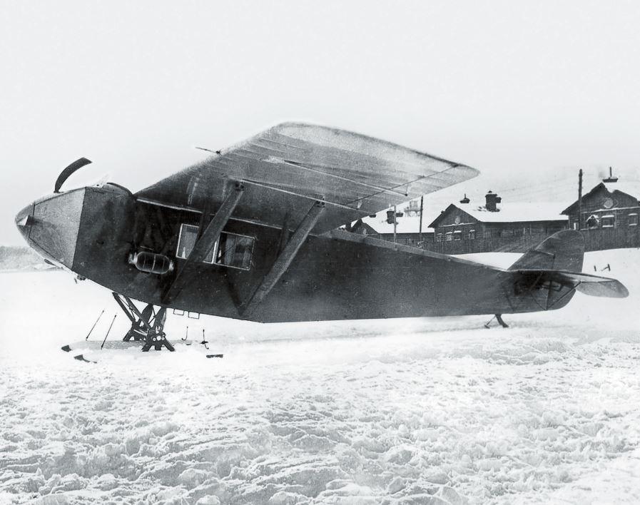Рис. 4. Самолет АК-1