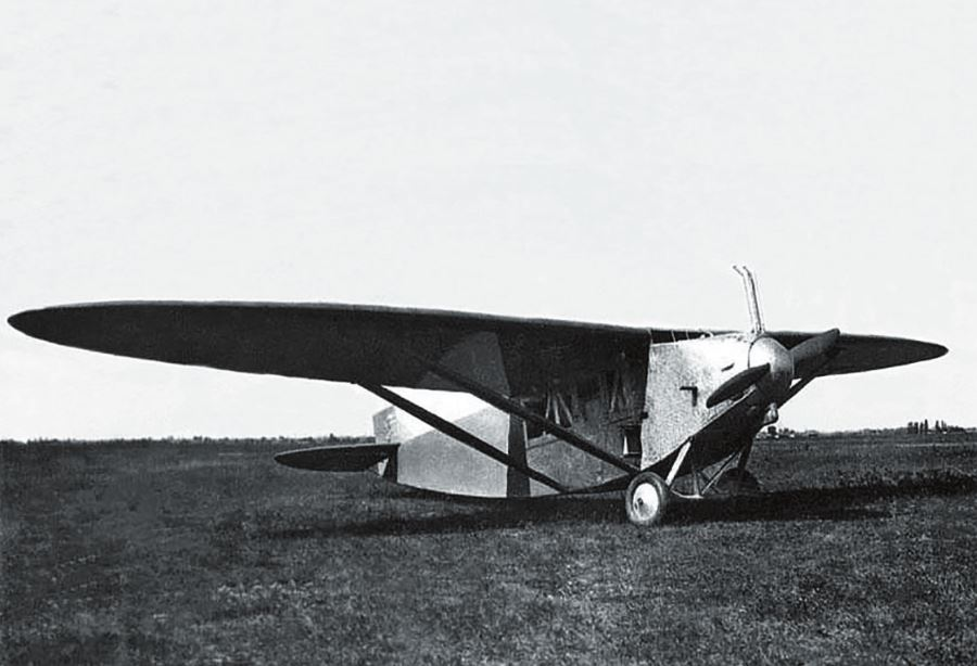 Рис. 6. Первый самолет К. А. Калинина