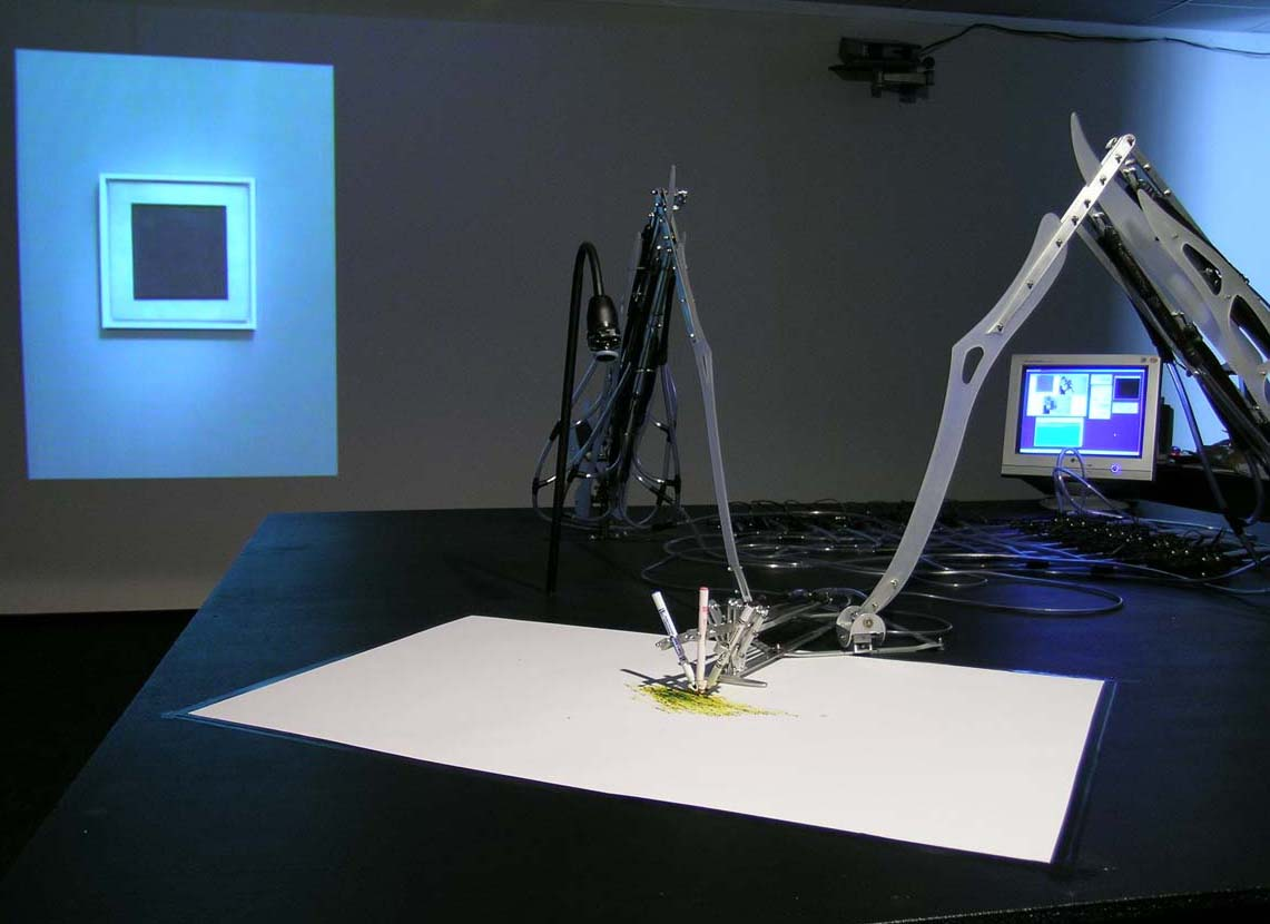 Рис. 6 MEART — Полуживой художник, SymbioticA — The Art & Science Collaborative Research Lab