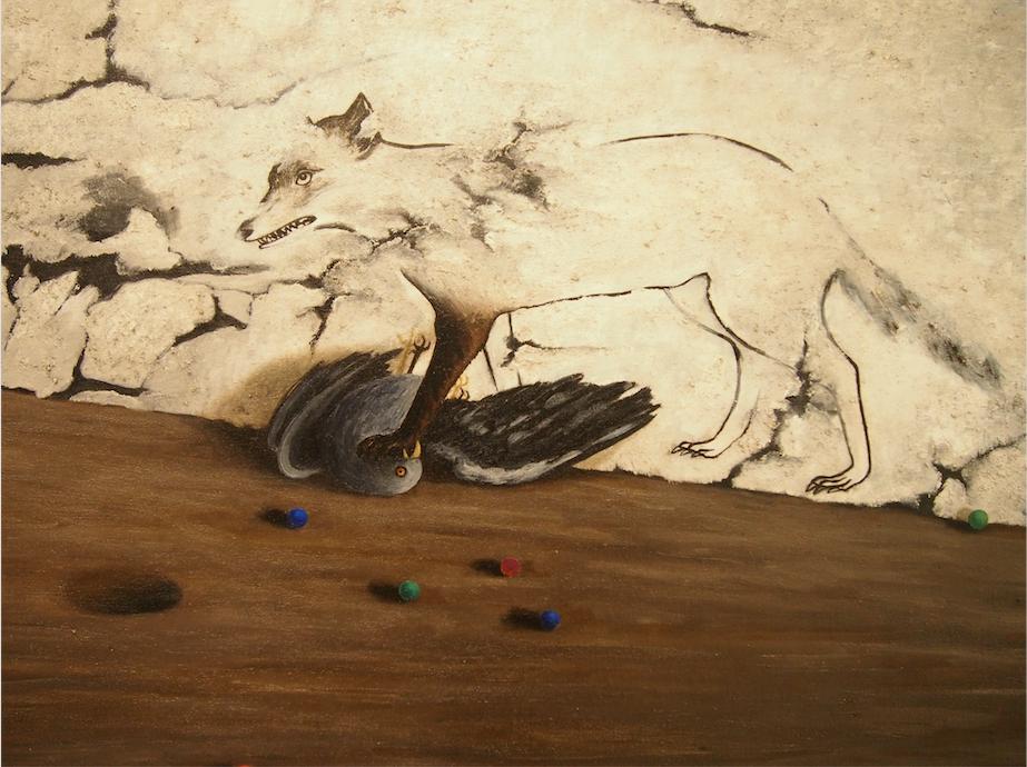 Рис. 3. Тойен. В Шато ла Кост. 1943