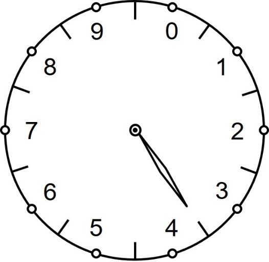 Рис. 1. Цифровой десятичный циферблат