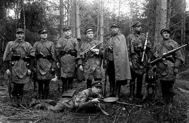 Литовские «лесные братья», 1957 г.