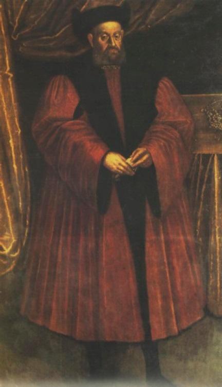 Рис. 23. Неизвестный художник. Портрет короля Сигизмунда I Старого. Краков, вторая четверть XVI в.