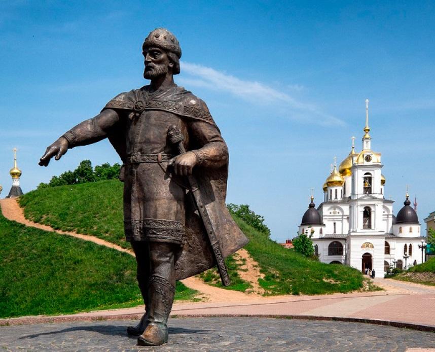 Рис. 4. Памятник Юрию Долгорукому в г. Дмитров
