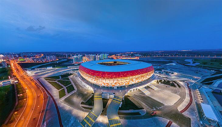 Ростов, Саранск, Калининград, Екатеринбург и Нижний Новгород хотят провести финал Кубка России
