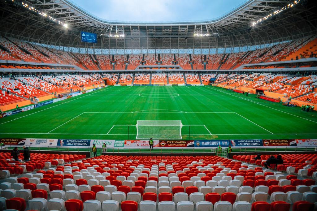 «Мордовия» договорилась о проведении матчей на «Мордовия Арене»