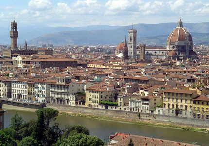 Флоренция, ты ирис нежный